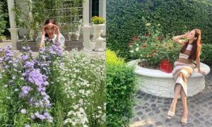 สวนดอกไม้บ้าน อั้ม พัชราภา ร่มรื่น สวยงาม สดชื่น ผ่อนคลายแบบสุดๆ